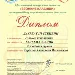Участие в II Региональном конкурсе юных пианистов Звонкие клавиши (2)