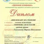 Участие в II Региональном конкурсе юных пианистов Звонкие клавиши (5)