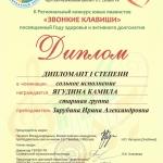 Участие в II Региональном конкурсе юных пианистов Звонкие клавиши (6)