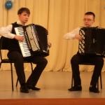 дуэт аккордеонистов Шевернев-Десяткин